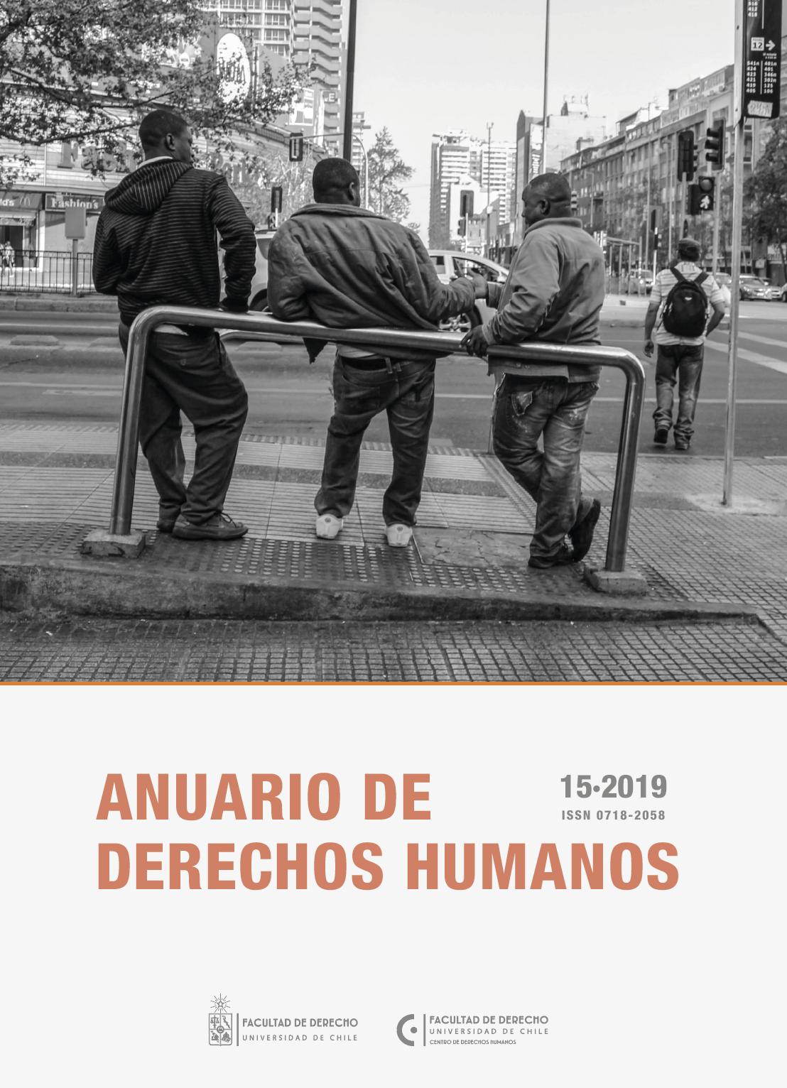Anuario de Derechos Humanos. Portada